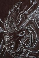 Quick sketch Ifrit by DarkWolf2011-2012