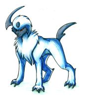 Absol by MintyMaguire