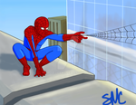 Spider-Man by paddedpaws