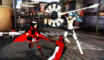 .:MMD:. Ruby Rose vs Labrys [RWBY + P4A] by Miku-Nyan02