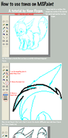MSPaint Tones Tutorial by NeonFlygon
