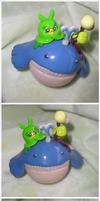 Wailmer+Swadloon+Bellsprout by Foureyedalien