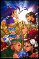 Street Fighter Girls by Celestial-83