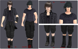 Noctis Model Update (Still WIP) by ChochoYatori