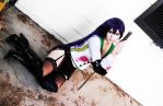 Saeko Cosplay 1 by CLeigh-Cosplay