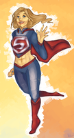 Super Girl Doodle by AlphaCaht