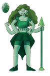 Moss Agate Fusion by WaterLily-Gems