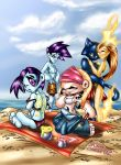 Scattered Cast at Beach by scatteredcomics