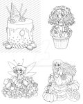 Even even more coloring book WIPs by YamPuff