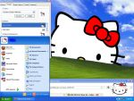 Hello Kitty Xp Theme by CailynDizon