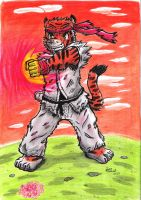 Karate Tiger - Color by PeoGabi