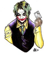 The Joker_Color by ClockworkMurderscene