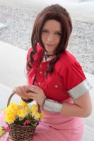 Aerith from Final Fantasy VII by RoxieReika