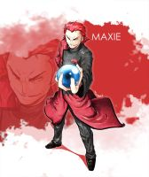 Maxie - Team Magma by tsunami-dono