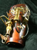 Steampunk Warrior arm cannon by Skinz-N-Hydez