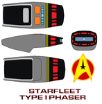 Starfleet Phaser  Type-I by bagera3005