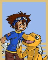 awww but i wanted agumon by grindzone
