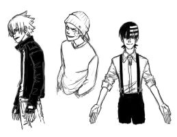 Soul Eater boys by Jazzie560