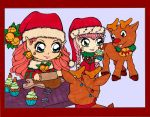 Christmas Bakery Colored by Maiko-Girl
