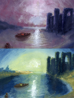 paintings update by blinding-eclips