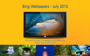 Bing Wallpapers - July 2012 by Misaki2009
