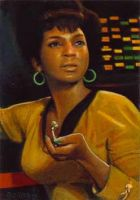 Uhura card 168 by charles-hall