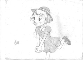 The Dreamy Girl from a Snowy Land by SemiJuggalo
