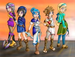 Contest Entry: FE Companions by Lady-of-Link