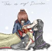 Kenshin's December -color- by Kamiruchan015