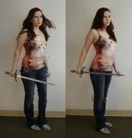 clary fray and the mortalsword by magikstock