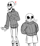 Skeletons in Sweaters by AccursedAsche