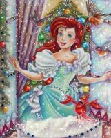 Ariel (Christmas morning) by Alena-Koshkar