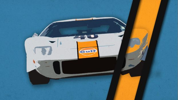 Ford Gt40 by Wawo96