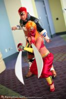 Gerudo and Ganondorf by negativedreamer