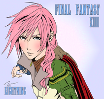 :: LIGHTNING COLORING :: by VincentXyooj