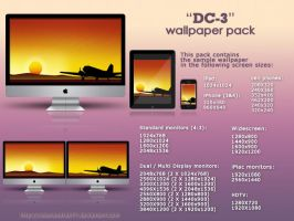 DC-3 wallpaper pack by Rubenandres77
