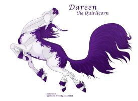 Dareen the Quirlicorn by pookyhorse
