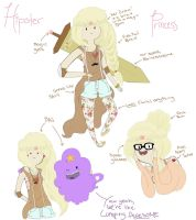 Hipster Princess Combo by hobbesme