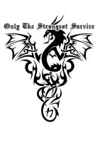 Dragon Survive tattoo by DSGraphix