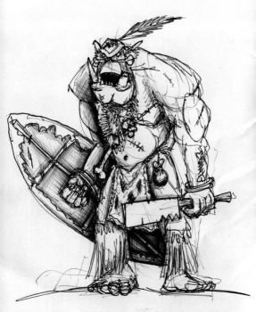 Feral Ork 1 by StugMeister