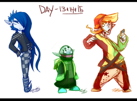 .:CDCJAN Day 13/14/15 - three more out of 12:. by Nights2Dreams