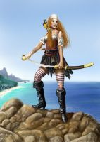 Pirate Wench by dashinvaine