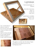 light desk by Thianari