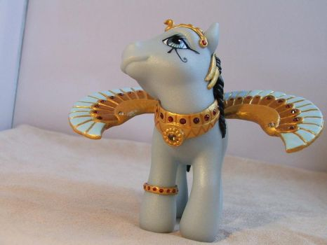 Egyptian Wings Necklace by lovelauraland