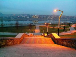 Donetsk, near Donbass-Arena by FCSD