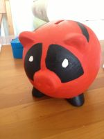 Dead pool pig~ by Jena-Rose