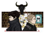 Sherlock and John by Millster-Ink