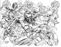 Cyberforce new pencil by ScottCohn