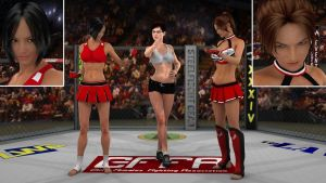 Tomiko vs Anne  01  by PhoenixCreed