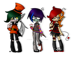 (OPEN) Collab Halloween by TwinJestersxAdopts